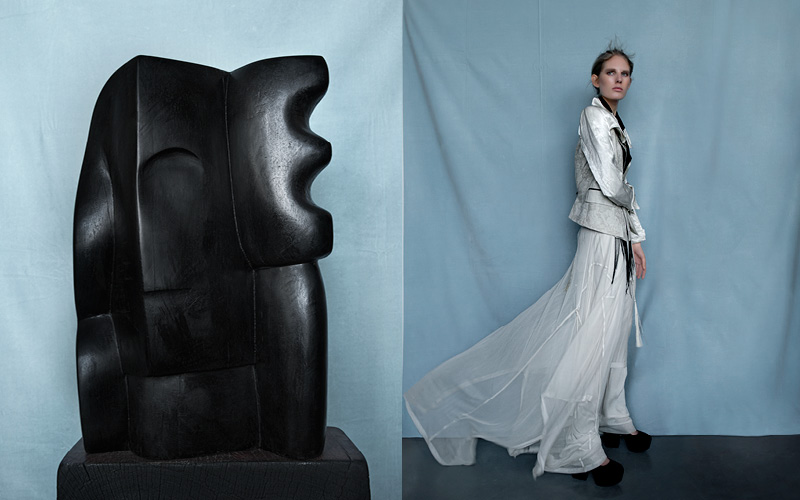 white gothic | published in elle, netherlands
